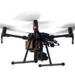 DJI Matrice 210 drone with a hyperspectral camera from HAIP Solutions