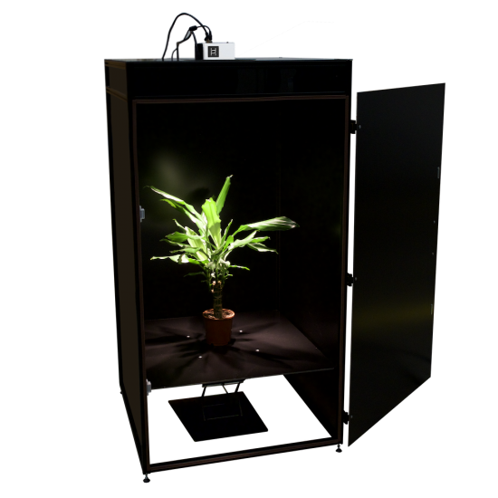 Phenotyping box for capturing hyperspectral data